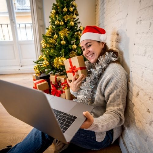 virtual company holiday parties